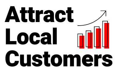 Attract Local Customers Logo